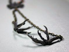Sparrow Claw Necklace