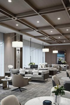 Home Decorating Stores Dallas Design Café, Lounge Design, Hotel Room Design, Lobby Design, Wood Interior Design, Restaurant Interior Design, Lobby Interior, Interior Architecture, Office Ceiling Design