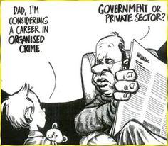 A career in organised crime...