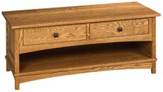 33% OFF Amish Furniture: Amber Coffee Table: Cherry