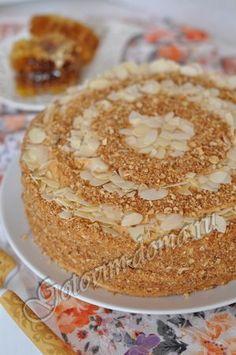 """Рецепт: Торт """"Медовик"""" http://gotovim-doma.ru/view.php?r=463-recept-Tort-Medovik"""