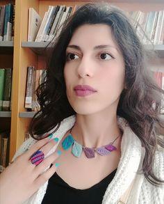 Cute makramé!!! Turquoise Necklace, Cute, Jewelry, Fashion, Jewellery Making, Jewlery, La Mode, Fashion Illustrations, Jewelery