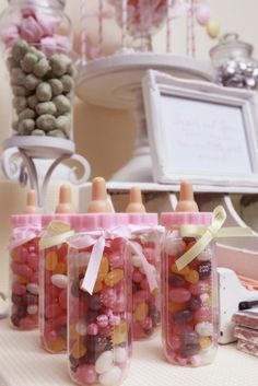 Sugar and Spice Baby Shower #babyshower #sweets  baby shower ideas for girls