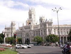 Ayuntamiento de Madrid. Antiguo palacio de Telecomunicaciones, edificio Cibeles. Madrid España
