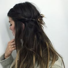 Twisted hair crown by Vizien