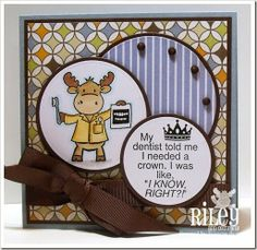 Riley Sneak Peek Day 4 created by Frances Byrne using stamps from Riley and Company