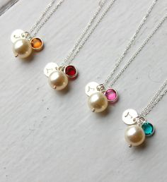 Mini Tribute Monogram Necklace // $27