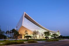 S.A.M.O.O. national library of sejong city designboom