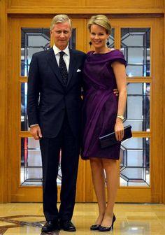 Prince Philippe and Princess Mathilde