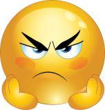 Emoticone colère