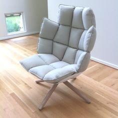 B & B Italia's Husk Chair designed by Patricia Urquiola. Brand spankin' new! Totally in love!