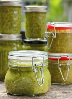 Creamy Avocado Salsa Verde! OMG this is SOOOOO GOOD! Being from Texas, I thought I knew every trick to get a great roasted flavor in any salsa - until I read this gal's recipe and made it. In lieu of chopping everything in batches in the food processor, this gal put all of the hard vegetables in a roasting pan, cooked them in the oven, which brought out just amazing flavor and made the assemblage so easy! This is a canning recipe, but it only makes 4 pints - which will disappear fast!