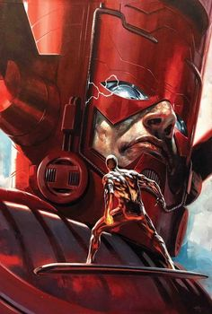 Marvels Annotated #3 B Gabriele Dell'Otto Galactus Silver Surfer Variant (04/10/2019) Marvel MARVEL COMICS (W) Kurt Busiek (A) Alex Ross (CA) Gabriele Dell'Otto Celebrating the 25th anniversary of the series that changed the way we look at super heroes, the landmark Marvels is back - with all-new commentary! Are the Ma