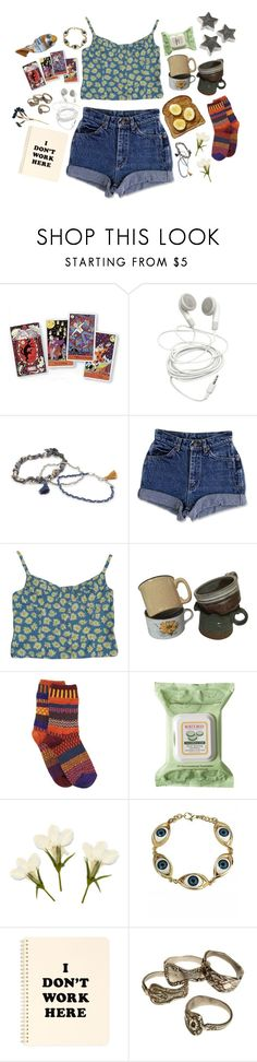 """""""all the dishes rattle in the cupboard when the elephants arrive"""" by blusargnt ❤ liked on Polyvore featuring Kipling, With Love From CA, Contempo Casuals, Solmate Socks, Burt's Bees and ban.do"""
