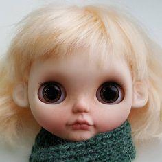 Custom Doll for Adoption by dollhouseGarden  CHECK HERE  http://etsy.me/2iJjWXz  #blythe #dollycustom #blythecustom #blythecustomizer #ooakblythe #customblythe #kawaii #doll #artdoll #dollstagram #blythestagram #blythelover #ブライス