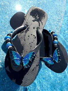 Blue Skies and Butterfly's  Flipinista® The ultimate in comfort , quality and glamour.. 312-399-2468
