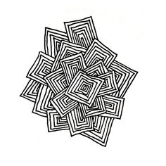 Zentangle #102 - Squares | Flickr - Photo Sharing!