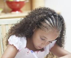 African-American Braided Hairstyles for Kids