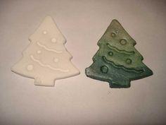 Ombre karácsonyfa házi porcelángyurmából - #32 DIY - Hulladekvadasz.hu