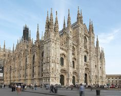 Construction started in 1356 and took nearly 6 centuries to complete