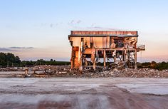 Ashby dairy demolition
