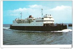 Ferries - M. V. S. Abegweit Passenger and Car Ferry operatin between Cape Tormentine, N. B. and Borden, P. E. I. Ice Breaker