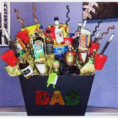 Nuts About You Father S Day Gift Basket Gift Ideas