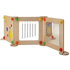 ASCO > Main Shop > Furniture & Storage > Room Dividers > Baby Path Play Element - Mirror Diy Kids Furniture, Furniture Storage, Storage Room, Furniture Design, Kids Workbench, Kids Indoor Playground, Baby Playroom, Baby Sensory, Classroom Design