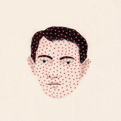 El color rosa en la ilustración Rachel Levit
