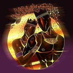 Romantic Drawings – The Most Beautiful Love Drawings You'll Love Black Love Artwork, Black Art Painting, Black Art Pictures, Sexy Black Art, Black Girl Art, Black Women Art, Queen Art, King Art, Orishas Yoruba