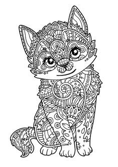 Quatang Gallery- Kitten Coloring Pages Free Mandala Kleurplaten Dieren Kleurplaten Kleurplaten