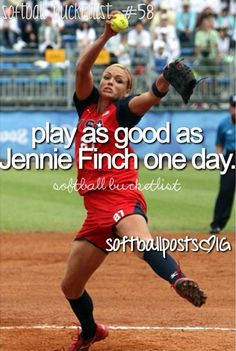 I hope soo!! Shes the best player in the history of softball