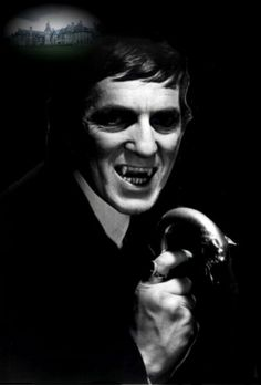 """Jonathan Frid. 1924 - 2012.  He originated the role of Vampire Barnabas Collins in the TV Series, """"Dark Shadows""""."""