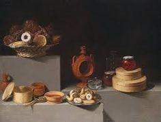 Juan van der Hamen y León. Still Life with Sweets and Pottery. 1627. National Gallery of Art.