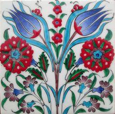 ceramic tile Turkish Art, Turkish Tiles, Islamic Tiles, Islamic Art, Tile Patterns, Textures Patterns, Victorian Tiles, Devian Art, Vintage Tile