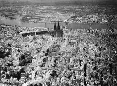 Cologne, Germany by The Rocketeer, via Flickr (Taken c. 1945)