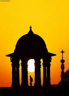 SUNSET AT DELHI