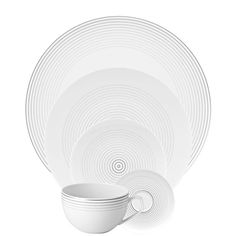5 Piece Place Setting (5 pps) Rosenthal Studio-Line TAC 02 CO-I,Dinnerware