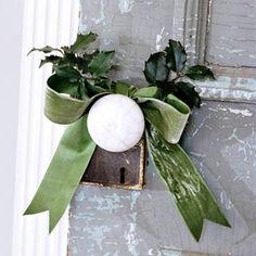 Christmas Door Handle