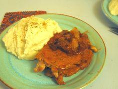 A Starch Free Cookbook: Mashed Cauliflower