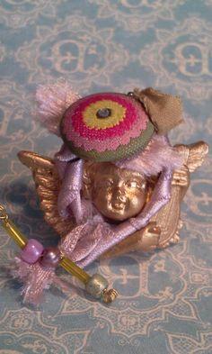 Broche ángel