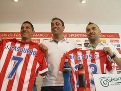 Casquero y Cristian Bustos jugarán en el Sporting - http://mercafichajes.es/11/07/2013/casquero-cristian-bustos-sporting/
