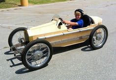 2002 CycleKart Custom : Registry : The CycleKart Club Wooden Go Kart, Wooden Car, Cool Go Karts, Soap Box Cars, Derby Cars, Kids Ride On, Buggy, Pedal Cars, Vintage Race Car