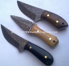 Damascus Skinner Knives Set - Buy Damascus Fancy Knife,Damascus ...