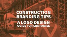 Check out the Top Construction Branding Tips - a Logo Design Guide for Companies related to Builders and Carpentry. Need Help from a Professional? via @inkbotdesign