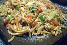The Best of Japanese Cuisine: Gluten-Free Vegetarian Yakisoba Noodle Recipe | Book of Yum