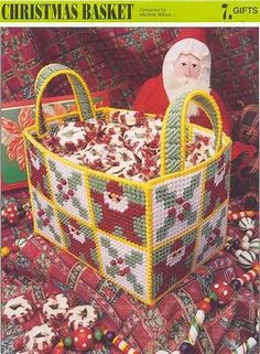 Image result for Free Christmas Plastic Canvas Patterns