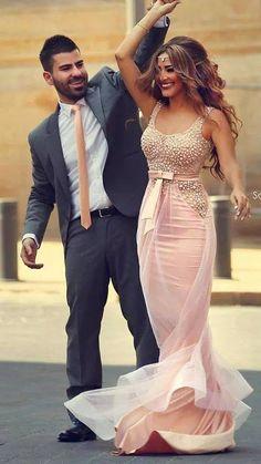 Pink Evening Dress 2015, So Beautiful  prom dress