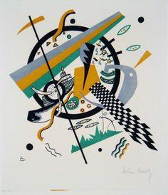 Wassily Kandinsky - Kleine Welten IV, 1922. Stedelijk Museum Amsterdam