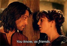 Constance and D'Artagnan Haven.... Haha! His face!